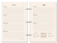 5 x 8 Organizer Refill - Preference Collection Agenda Insert 3 or 7 holes available