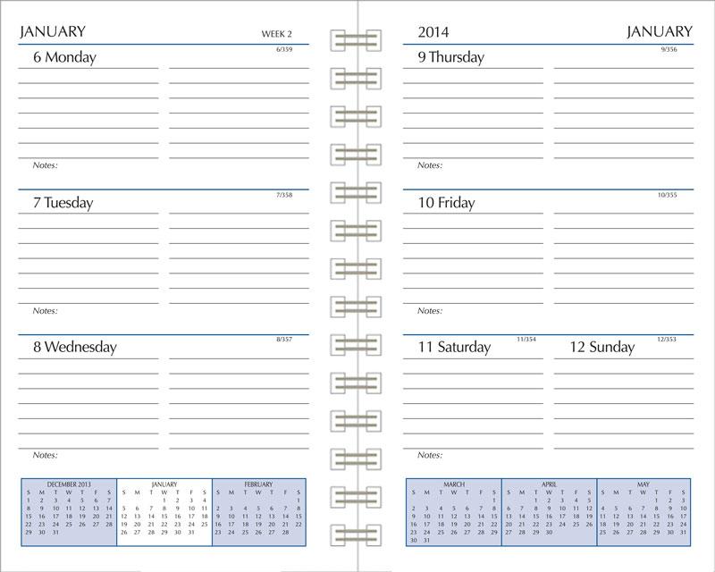 Refill services calendar refills