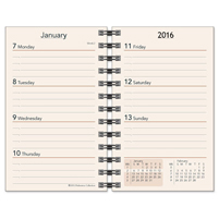 Preference collection 2 x 4 wirebound calendar refill