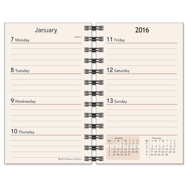 Weekly Calendar Refills : Preference collection planner refills sun graphix